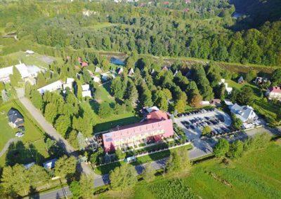 Ośrodek wypoczynkowy Połoniny w Bieszczadach